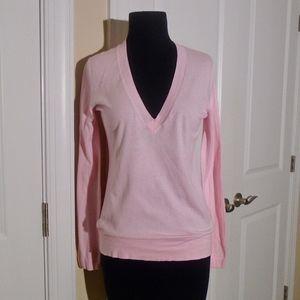 J CREW V-Neck Long Sleeve Cotton Sweater S